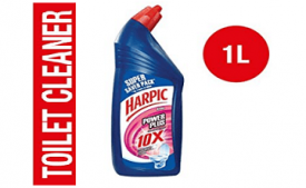 Buy Harpic Powerplus Toilet Cleaner Rose, 1 L at Rs 126 from Amazon