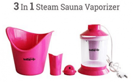 Buy Healthgenie 3 In 1 Steam Sauna Vaporizer Regular at Rs 229 from Amazon
