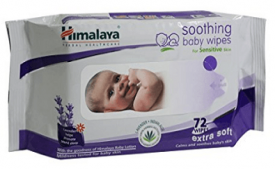 Buy Himalaya Herbal Soothing Baby Wipes 72 Pieces at Rs 105 from Amazon