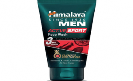 Buy Himalaya Men Active Sport Face wash, 100ml at Rs 120 from Amazon