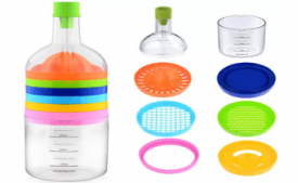 Buy Ideale Multi Tool Bottle 8 in 1 Plastic Grater at Rs 199 from Flipkart