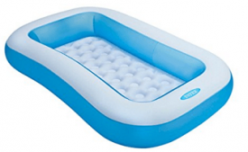 Buy Intex Inflatable Rectangular Pool, Multi Color at Rs 779 from Amazon