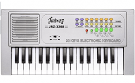 Buy Juarez JRZ3208 Electronic Musical Keyboard Piano 32 Keys, Silver at Rs 399 from Amazon