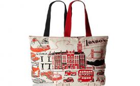 Buy Kanvas Katha Womens Combo Tote Bag (Pack of 2) at Rs 109 from Amazon