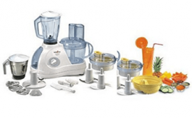 Buy Kenstar Karishma Classic KFC60W2M 600-Watt Food Processor at Rs 3,590 from Amazon