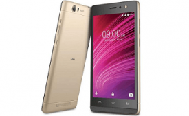 Lava A97 4G with VoLTE (Black Grey, 8 GB) from Flipkart at Rs 5,599
