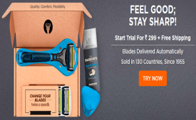 LetsShave Coupons & Offers: Upto 55% OFF on Shaving Kit August 2017
