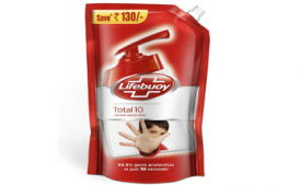 Buy Lifebuoy Total 10 Germ Protection Hand Wash, 800 ml at Rs 99 from Amazon