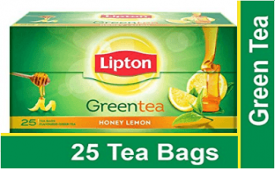 Buy Lipton Honey Lemon Green Tea Bags 25 Pieces at Rs 105 from Amazon