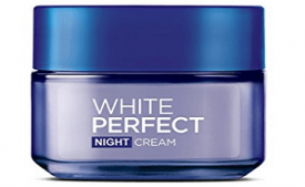 Buy L'Oreal White Perfect Fairness Revealing Soothing Night Cream at Rs 350 from Amazon