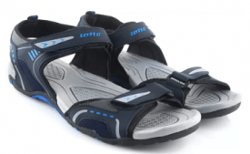 Buy Lotto Men Grey/Blue Sports Sandals at Rs 494 from Flipkart