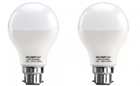 Buy Moserbaer 14W B22 LED Bulb White, Pack of 2 at Rs 305 from Flipkart