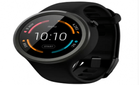 Buy Motorola Moto 360 Sport Smartwatch (Black Strap Regular) at Rs 15,999 from Flipkart