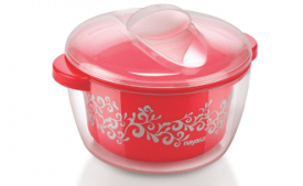Buy Nayasa Nova Plastic Casserole with Spoon, 1.5 Litres at Rs 165 from Amazon
