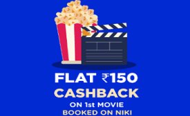 Niki App Coupons & Offers: Upto 20% Cashback on your Recharge, Electricity & water bills, Ticket Booking