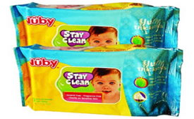 Buy Nuby Comfort Baby Wipes (80 Sheets) - Pack of 2 at Rs 138 from Amazon