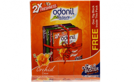 Buy Odonil Gel - 50 g (Pack of 4) just at Rs 125 from Amazon