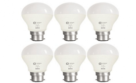 Buy Orient Electric B22 7-Watt LED Bulb (Pack of 6) at Rs 710 from Amazon