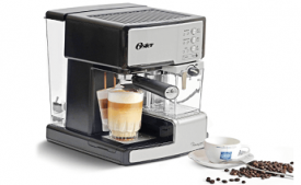Buy Oster BVSTEM6601S-049 1050-Watt Prima Expresso and Latte Maker at Rs 7,992 from Amazon