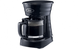 Buy Oster Urban 0.6-Litre 4-Cup Coffee Maker (Black) at Rs 999 from Amazon