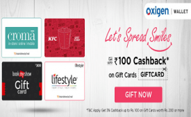 Oxigen Wallet Offers: Add Money Rs 1500 In Oxigen Wallet & Get upto Rs 500 on Shopclues