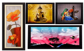 Buy Paintings & Wall Decor on Flipkart Starting at Rs 184 Only