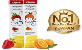 Buy Pigeon Children Toothpaste, Orange at Rs 127 from Amazon