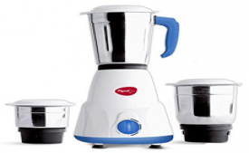 Buy Pigeon Gusto 550-Watt Mixer Grinder with 3 Jars at Rs 973 from Flipkart