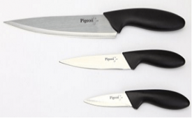 Buy Pigeon Kitchen Knives Set, 3-Pieces at Rs 149 from Amazon