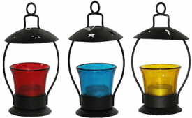 Buy Pindia Decorative T-Lite Candle Holder (Set of 4) at Rs 529 from Amazon