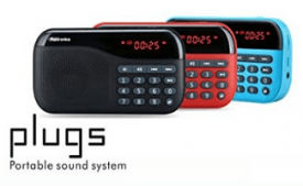 Buy Portronics POR-141 Plugs Portable Speaker with FM & MicroSD card Support at Rs 839 from Amazon