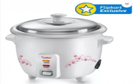Buy Prestige Delight PRWO 1.5 Electric Rice Cooker with Steaming Feature at Rs 1,899 from Flipkart