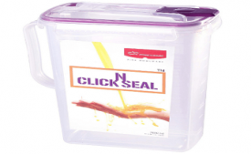 Buy Princeware Click N Seal Water Jug, 2 Litres, Violet at Rs 166 from Amazon