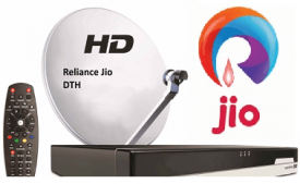 Reliance JIO DTH Set Top Box Booking launch, Plans, Dealership, Franchise Online Registration