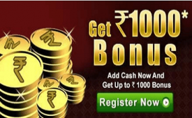 RummyCircle Coupons & Offers: Get Rs 1,000 Bonus FREE + Win real Cash, Prizes October 2017