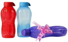 Buy Signoraware Aqua Fresh Water Bottle Set of 3, 500ml at Rs 166 from Amazon