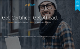 Simplilearn Coupons & Offers: Flat 30% OFF on All Courses October 2017