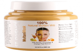 Buy ST. DVENCE Multani Mask Face Pack with Honey, Cucumber and Orange Peel Extracts, 300ml at Rs 399 from Amazon