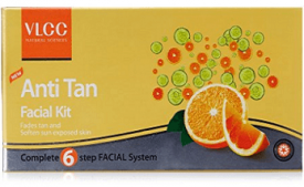 Buy VLCC Anti Tan Single Facial Kit at Rs 162 from Amazon