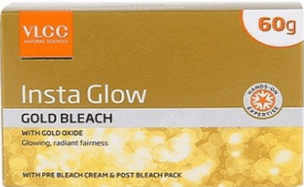 Buy VLCC Insta Glow Gold Bleach, 60gm at Rs 75 from Amazon