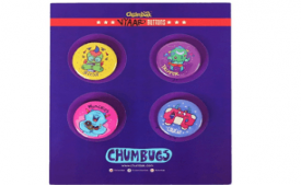 Buy CHUMBAK Vyaar Buttons (Set of 4) at Rs 52 from Amazon