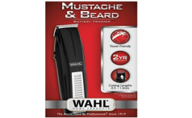 Buy Wahl Moustache & Beard battery Trimmer 05537 at Rs 329 from Amazon