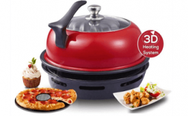 Buy Wonderchef Aluminium Gas Oven Tandoor 4-Pieces, 30cm, Red/Black at Rs 3,685 from Amazon