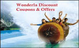 Wonderla Offers promo codes: Flat 45% Off Park ticket booking - November 2017