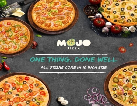 Mojo Pizza Coupons & Offers: Buy 1 Get 1 FREE + 50% Cashback Via Amazon Pay Balance May 2018