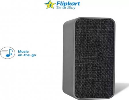 Buy Flipkart SmartBuy 5W Powerful Bass Bluetooth Speaker (Grey, Mono Channel) just at Rs 899 from Flipkart