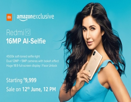 Buy Redmi Y2 Amazon Price at Rs 9,999: Sale On 12th June at 12PM, Specifications & Buy Online