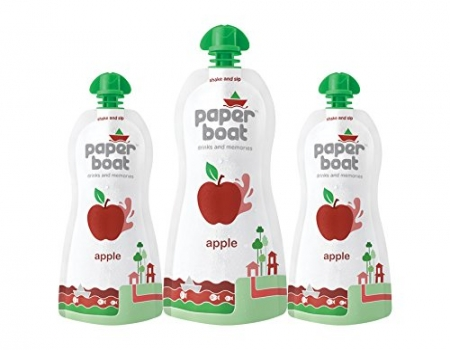 Buy Paper Boat Apple, 200ml just at Rs 14 only from Amazon