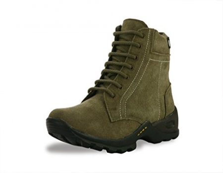Buy Bacca Bucci Mens Olive Genuine Leather Boots just at Rs 399 only from Amazon