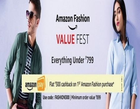 Amazon Wardrobe Refresh Sale [21-24 June]- Get Upto 40-80% OFF on Clothing, Footwear and Fashion Products + 15% Cashback Using ICICI Debit & Credit Ca